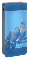 Two Birds In Spring Portable Battery Charger