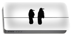 Two Birds On A String Portable Battery Charger