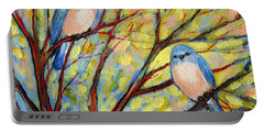 Two Bluebirds Portable Battery Charger