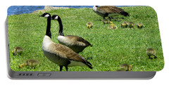 Portable Battery Charger featuring the photograph Two By Two  by Sandi OReilly