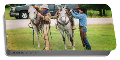Two Cowboys Portable Battery Charger