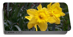Two Daffodils Portable Battery Charger
