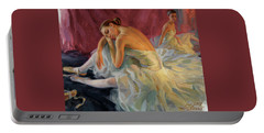 Two Dancers Portable Battery Charger