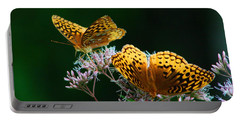 Two Fritillaries Portable Battery Charger