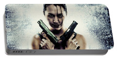 Lara Croft Portable Battery Charger