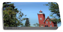 Two Harbors Lighthouse Portable Battery Charger