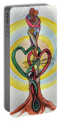 Two Hearts Portable Battery Charger