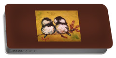Two Hot Chicks Portable Battery Charger
