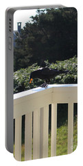 Portable Battery Charger featuring the photograph Two In The Beak by Marie Neder