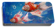 Two Little Fishies Portable Battery Charger