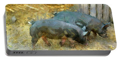 Two Little Pigs Portable Battery Charger