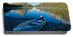 Portable Battery Charger featuring the photograph Two Medicnie Boat 3 by Adam Jewell