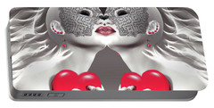 Two Merciful Hearts Portable Battery Charger