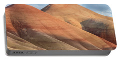 Portable Battery Charger featuring the photograph Two Painted Hills by Greg Nyquist