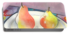 Two Pears Portable Battery Charger by Helena Tiainen