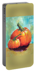 Two Pumpkins  Portable Battery Charger