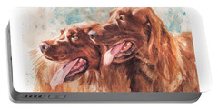 Two Redheads Portable Battery Charger