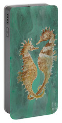 Two Seahorse Lovers Portable Battery Charger