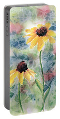 Two Sunflowers Portable Battery Charger