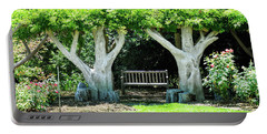 Two Tall Trees, Paradise, Romantic Spot Portable Battery Charger