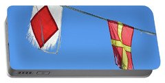 Two Tattered Flags Portable Battery Charger