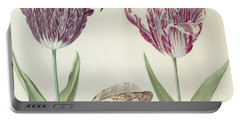 Two Tulips A Shell And A Grasshopper Portable Battery Charger
