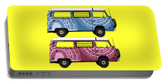 Two Vw Vans Portable Battery Charger