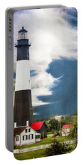 Portable Battery Charger featuring the photograph Tybee Island by Judy Wolinsky
