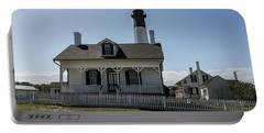 Portable Battery Charger featuring the photograph Tybee Island Lighthouse by Kim Hojnacki