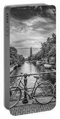 Typical Amsterdam - Monochrome Portable Battery Charger