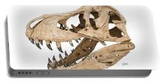Tyrannosaurus Skull Portable Battery Charger