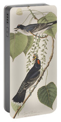 Tyrant Fly Catcher Portable Battery Charger by John James Audubon