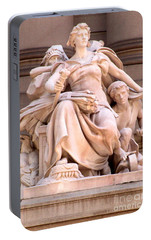 U S Custom House 4 Portable Battery Charger by Randall Weidner