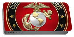 U. S. Marine Corps - U S M C Emblem Special Edition Portable Battery Charger