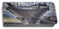 U S S   Intrepid's Bow  Portable Battery Charger