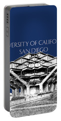 Uc San Diego Navy Blue Portable Battery Charger