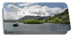 ueenstown New Zealand. Remarkable ranges and lake Wakatipu. Portable Battery Charger
