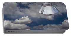 Ufo Sighting Portable Battery Charger
