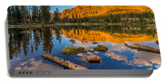 Uinta Mountains Sunset - Hayden Peak - Butterfly Lake - Utah Portable Battery Charger