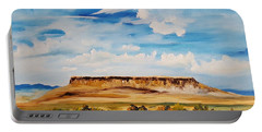 Ulm Montana First People's Buffalo Jump   93 Portable Battery Charger