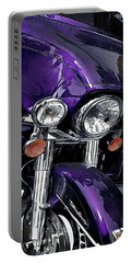 Ultra Purple Portable Battery Charger