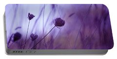 Ultra Violet Botanical Portable Battery Charger