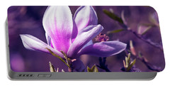 Ultra Violet Magnolia  Portable Battery Charger