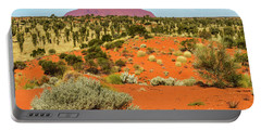 Portable Battery Charger featuring the photograph Uluru 01 by Werner Padarin