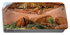 Portable Battery Charger featuring the photograph Uluru 06 by Werner Padarin