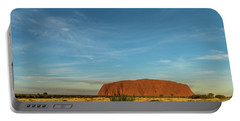 Portable Battery Charger featuring the photograph Uluru Sunset 01 by Werner Padarin