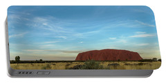 Portable Battery Charger featuring the photograph Uluru Sunset 02 by Werner Padarin
