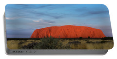 Uluru Sunset 03 Portable Battery Charger