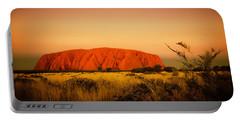 Uluru Sunset Portable Battery Charger