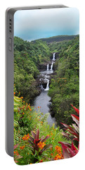 Umauma Falls Hawaii Portable Battery Charger